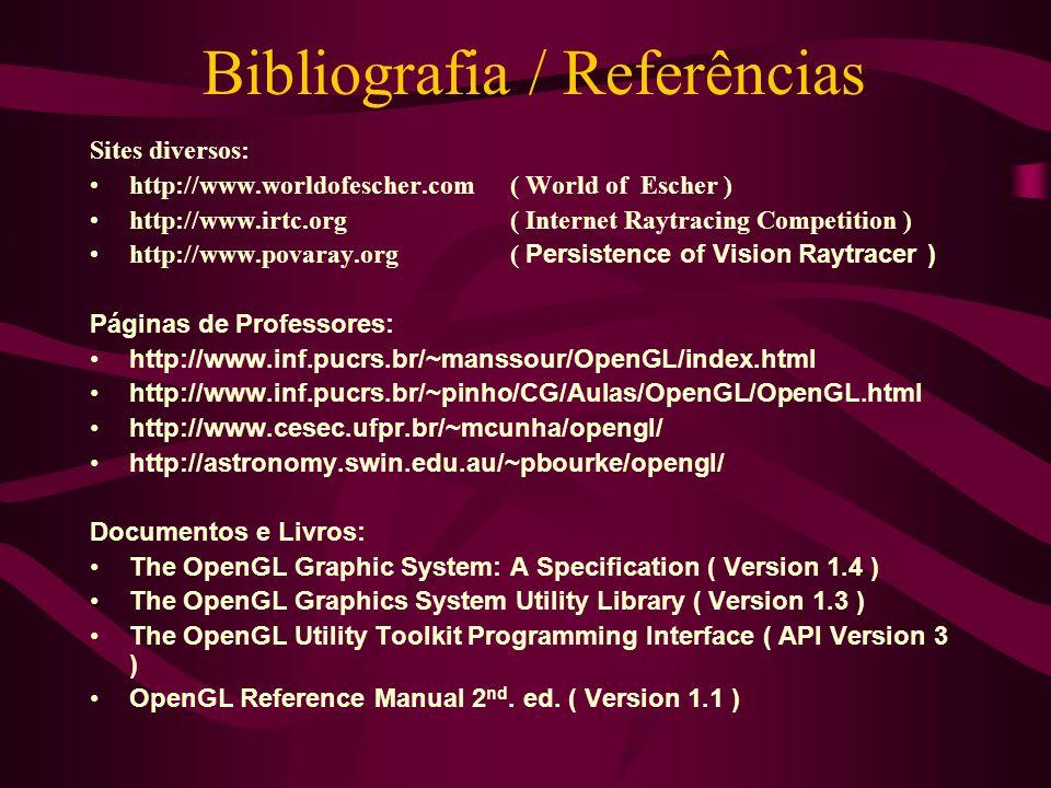 Bibliografia / Referências