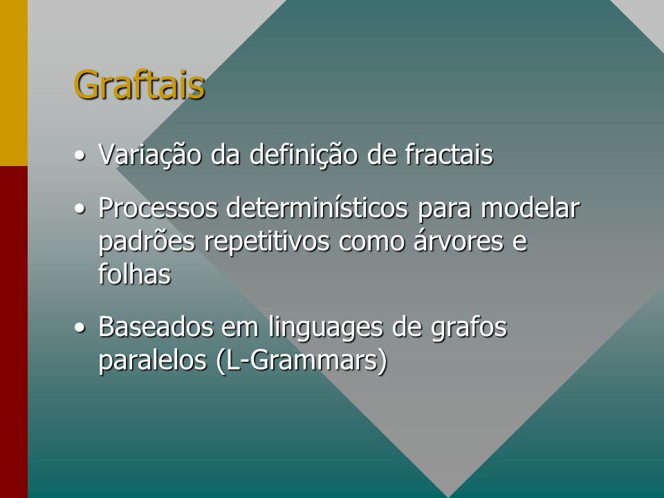 Graftais Variação da definição de fractais