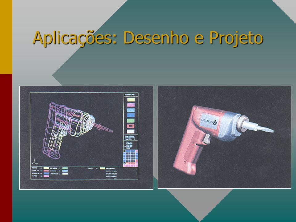 Aplicações: Desenho e Projeto