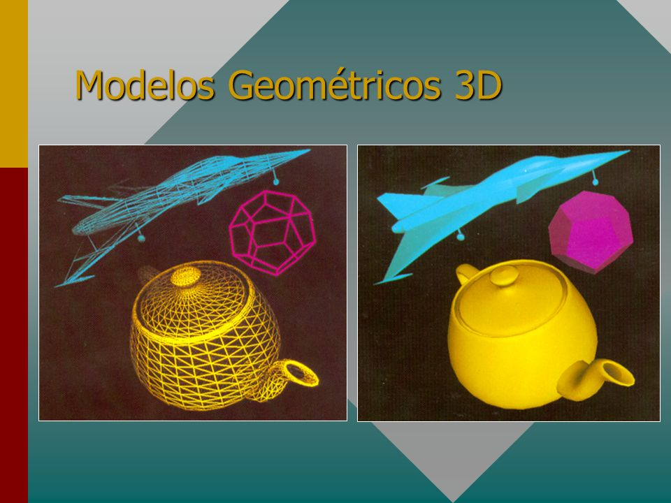 Modelos Geométricos 3D