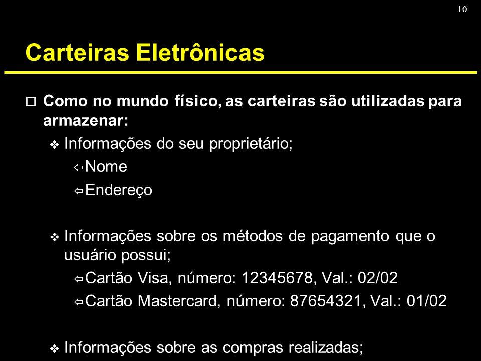 Carteiras Eletrônicas