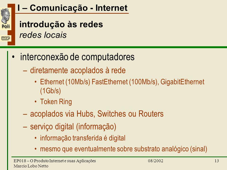 introdução às redes redes locais