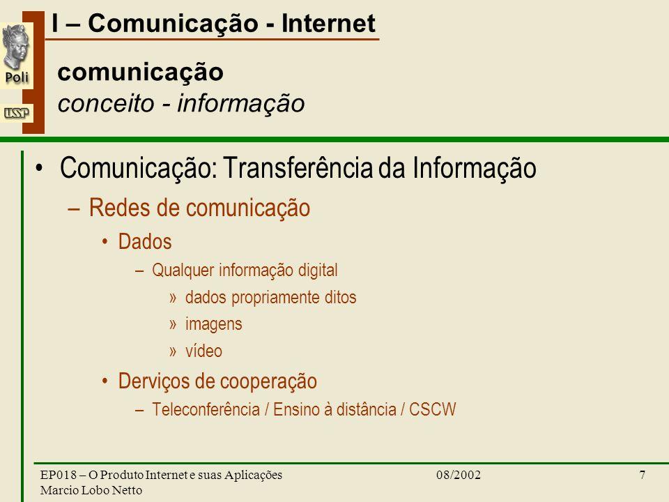 comunicação conceito - informação