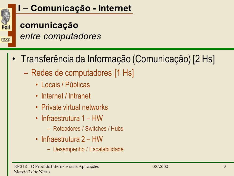 comunicação entre computadores