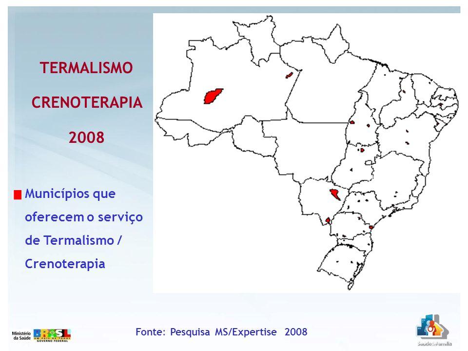TERMALISMO CRENOTERAPIA 2008