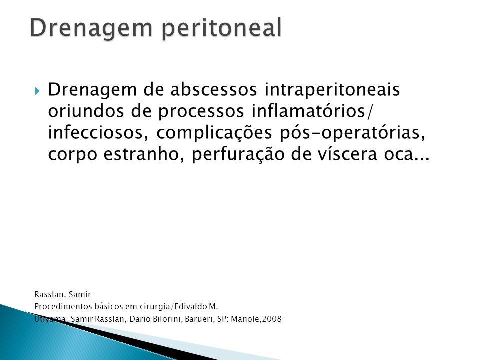 Drenagem peritoneal
