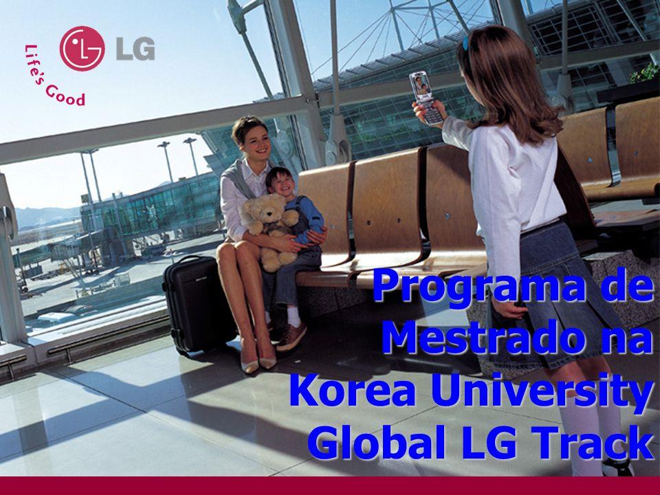Programa de Mestrado na Korea University