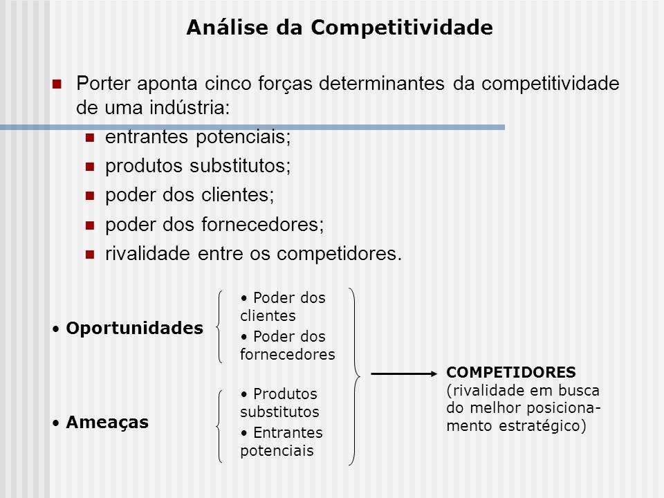 Análise da Competitividade