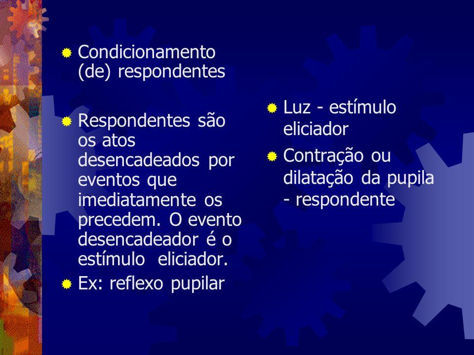Condicionamento (de) respondentes
