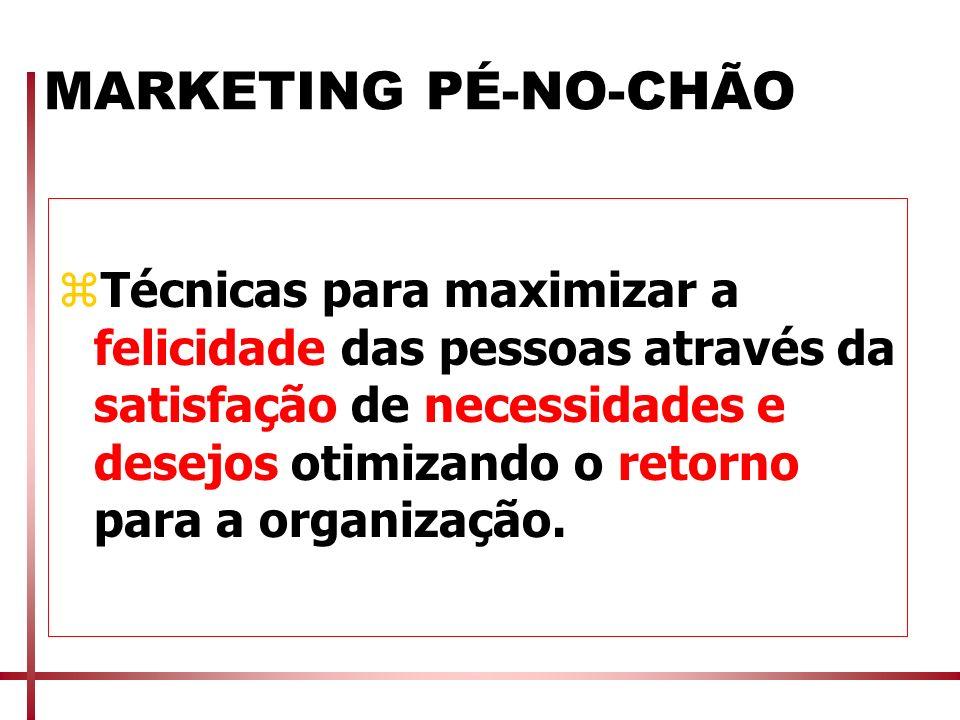 MARKETING PÉ-NO-CHÃO