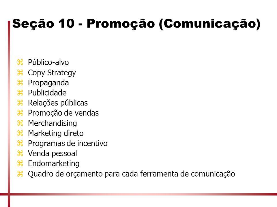 Seção 10 - Promoção (Comunicação)