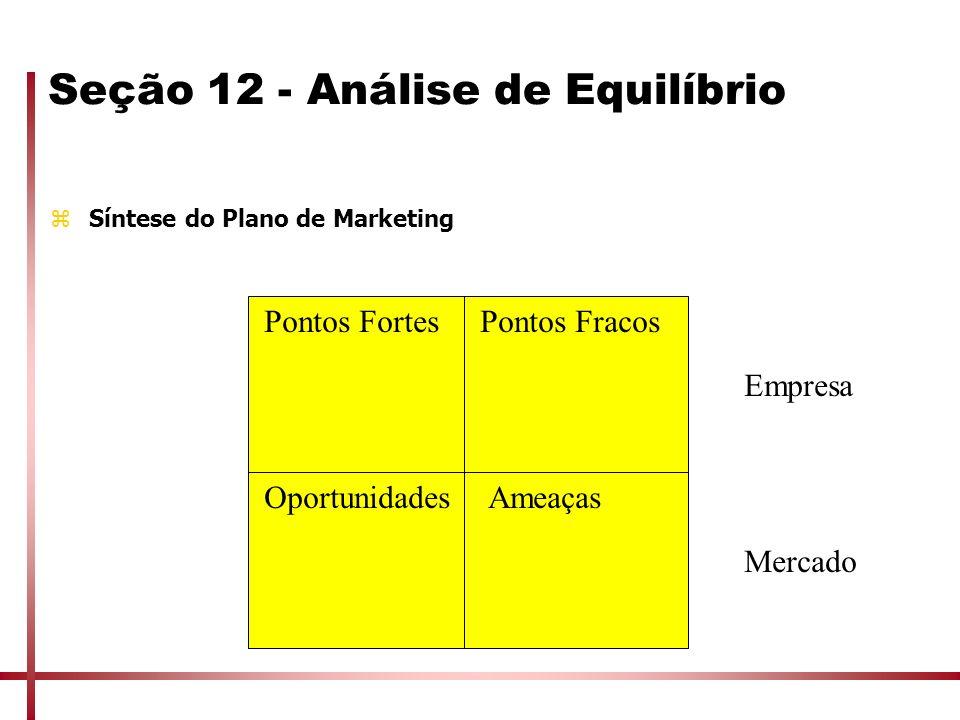 Seção 12 - Análise de Equilíbrio