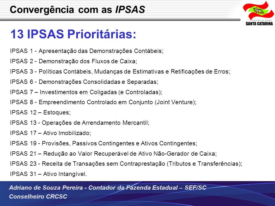 Convergência com as IPSAS