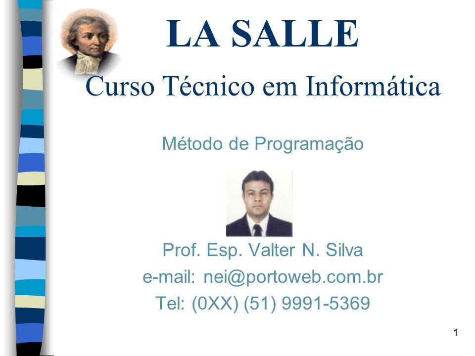 LA SALLE Curso Técnico em Informática