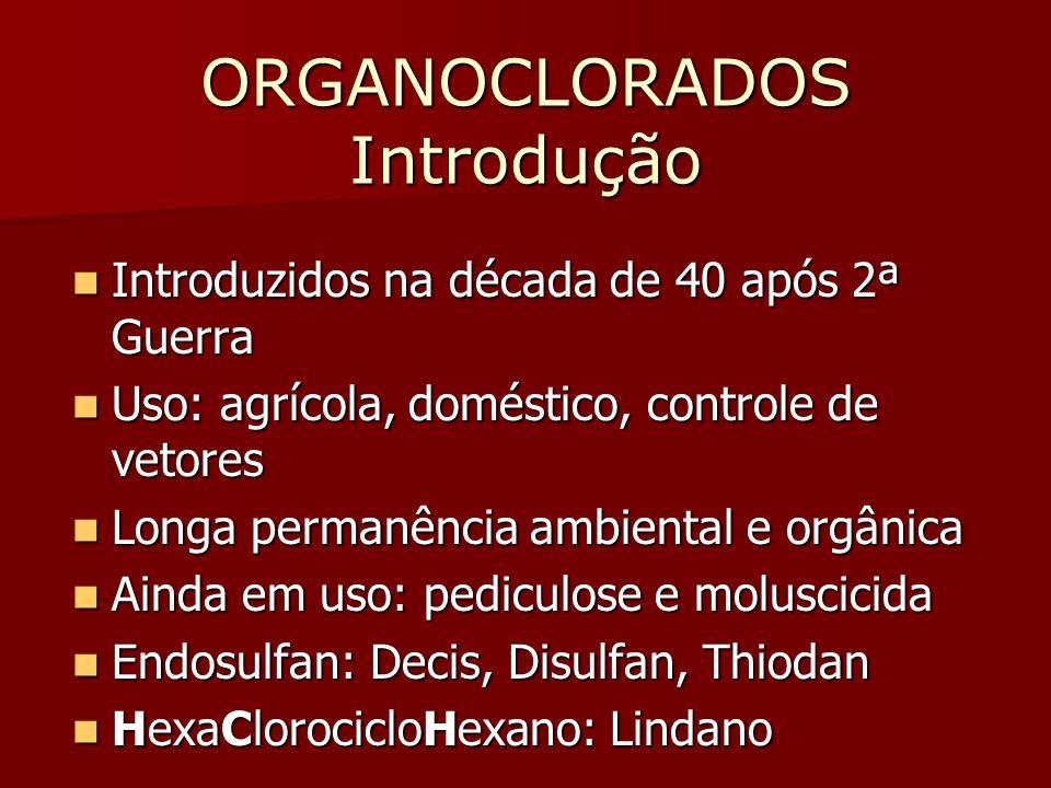 ORGANOCLORADOS Introdução