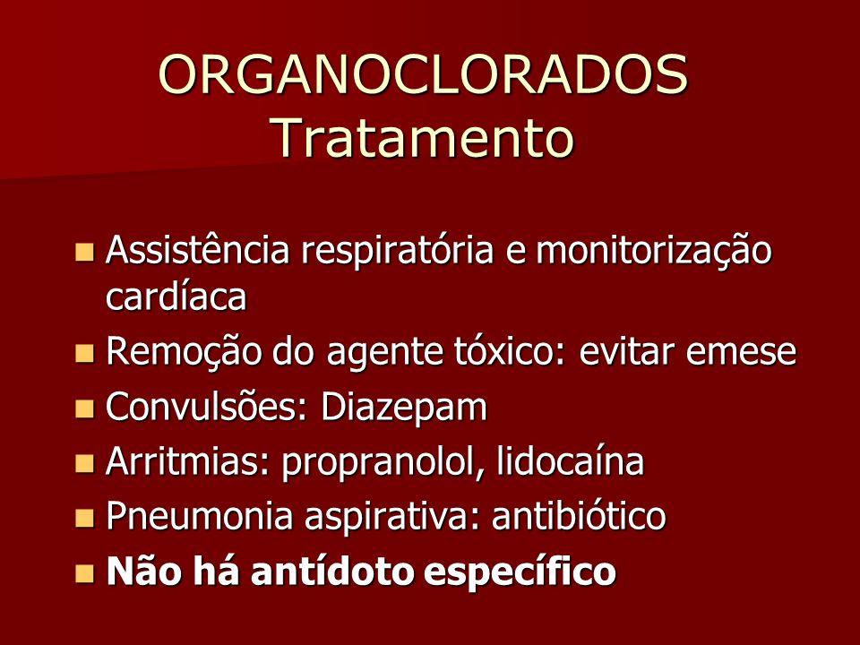 ORGANOCLORADOS Tratamento