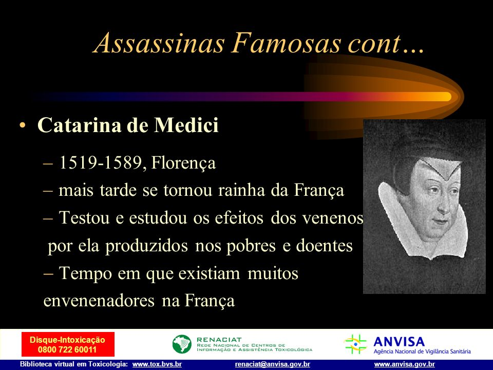 Assassinas Famosas cont…