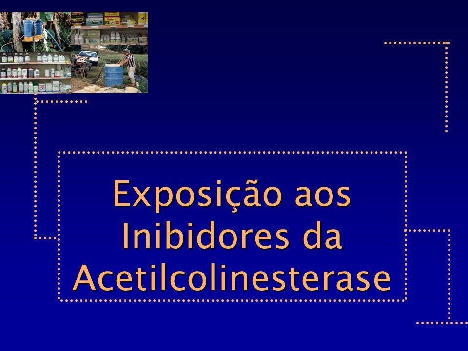 Exposição aos Inibidores da Acetilcolinesterase