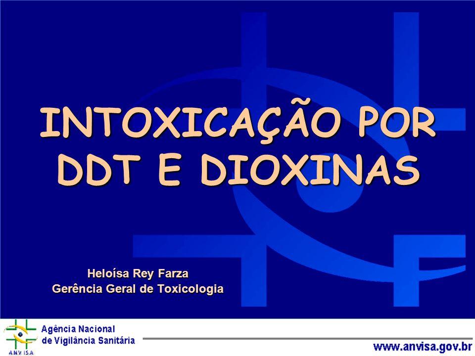 INTOXICAÇÃO POR DDT E DIOXINAS