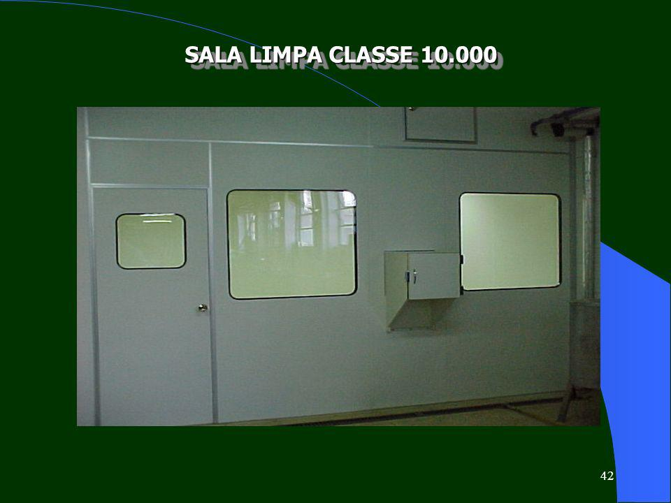 SALA LIMPA CLASSE 10.000