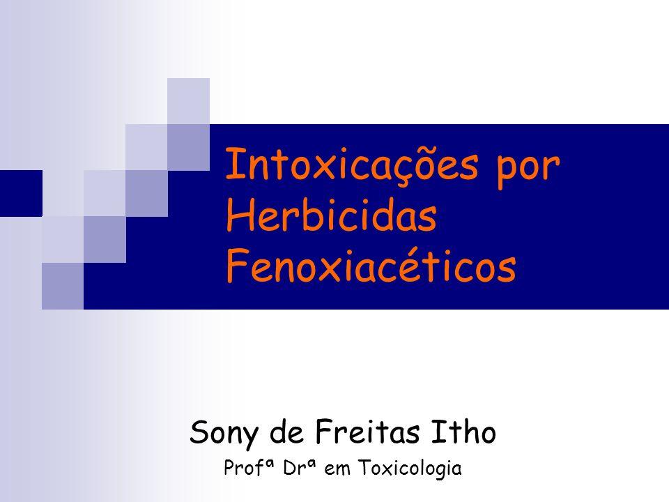 Intoxicações por Herbicidas Fenoxiacéticos