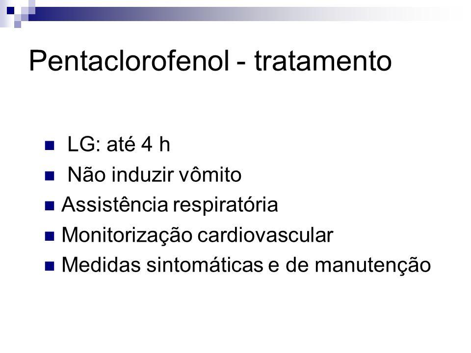 Pentaclorofenol - tratamento