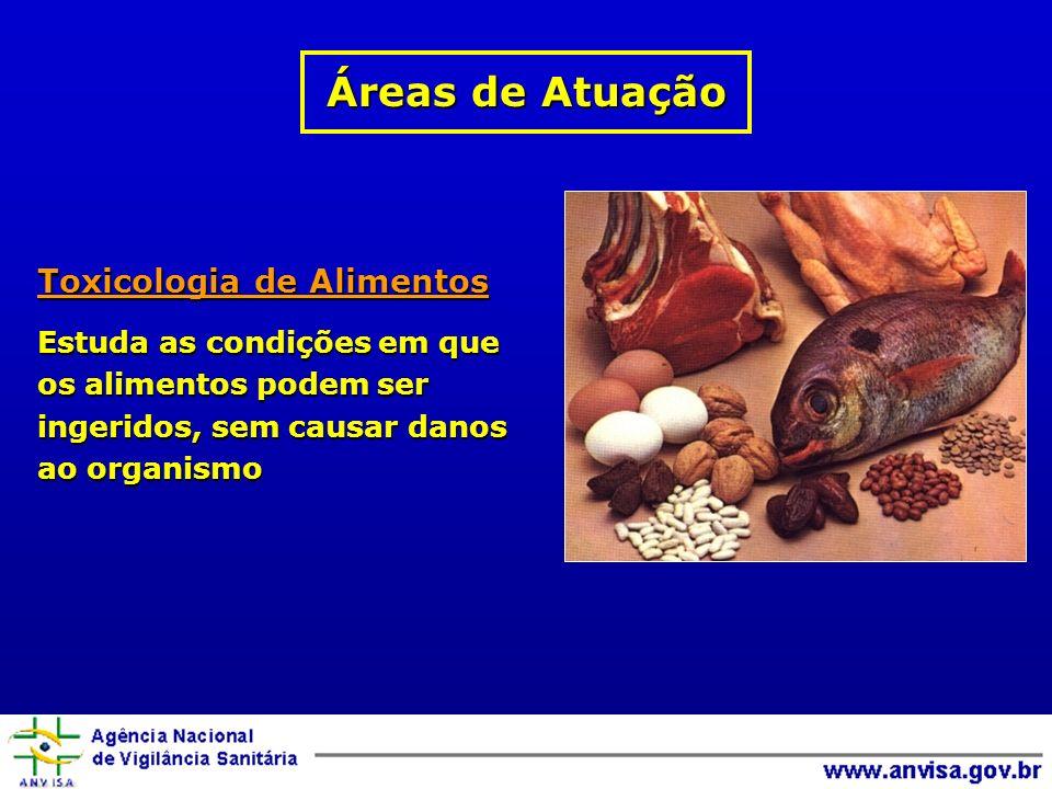 Áreas de Atuação Toxicologia de Alimentos