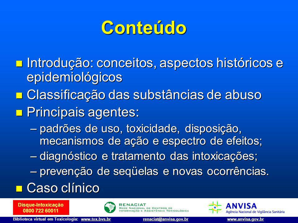 Conteúdo Introdução: conceitos, aspectos históricos e epidemiológicos