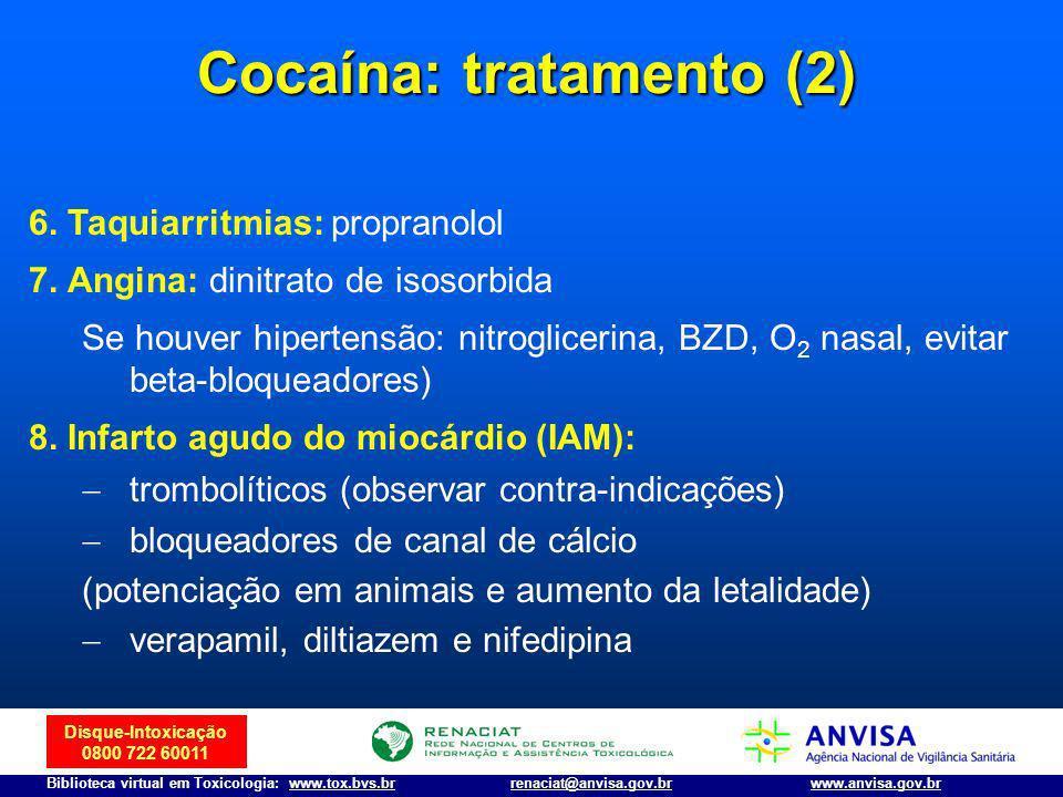 Cocaína: tratamento (2)