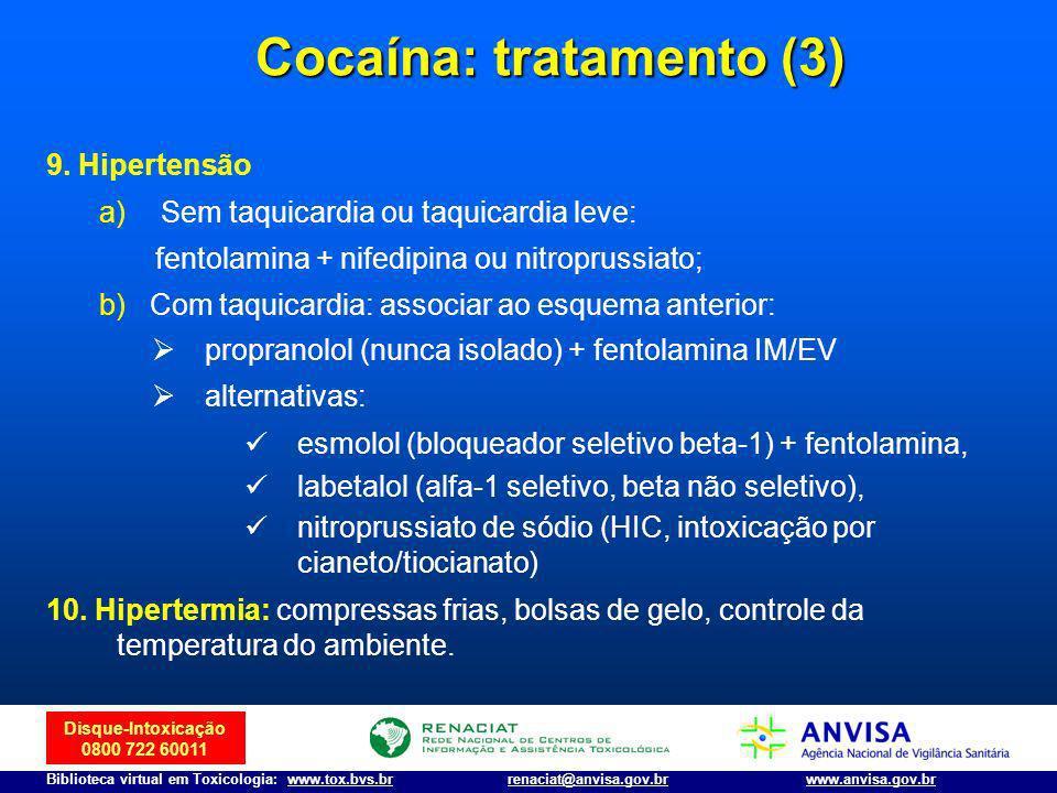 Cocaína: tratamento (3)