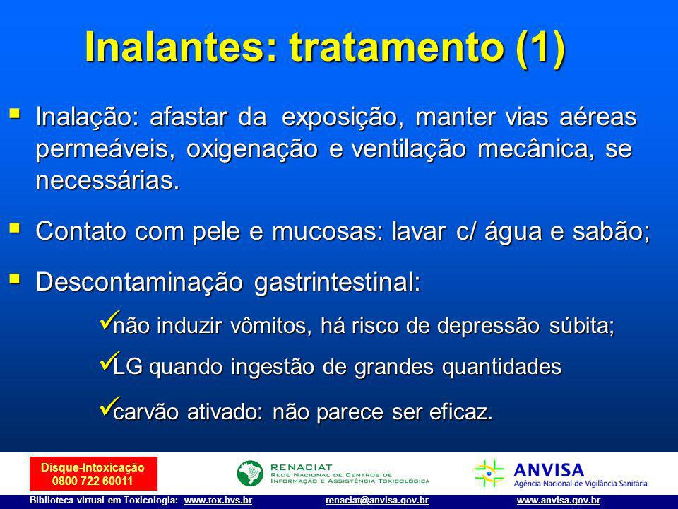 Inalantes: tratamento (1)