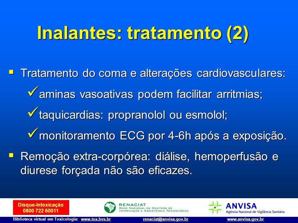Inalantes: tratamento (2)