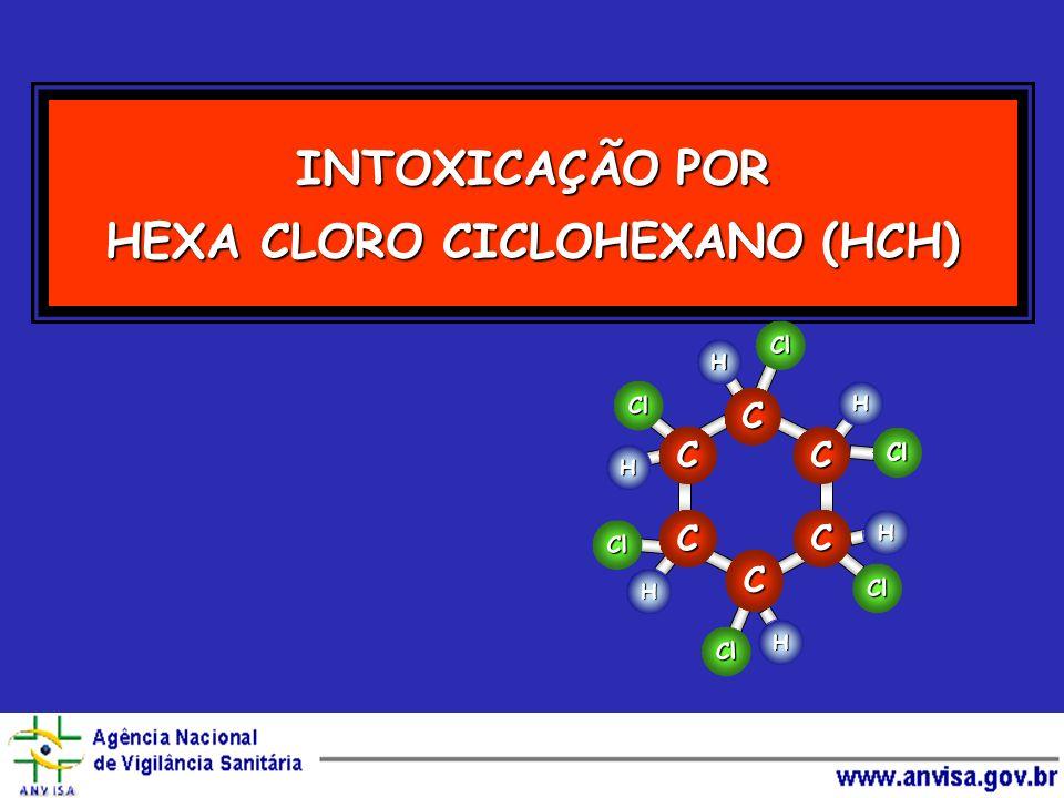 INTOXICAÇÃO POR HEXA CLORO CICLOHEXANO (HCH)
