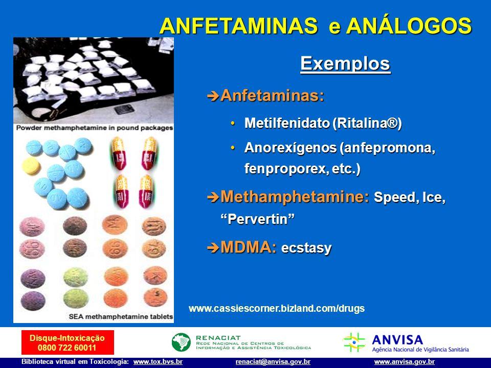 ANFETAMINAS e ANÁLOGOS