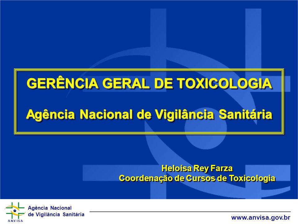 GERÊNCIA GERAL DE TOXICOLOGIA
