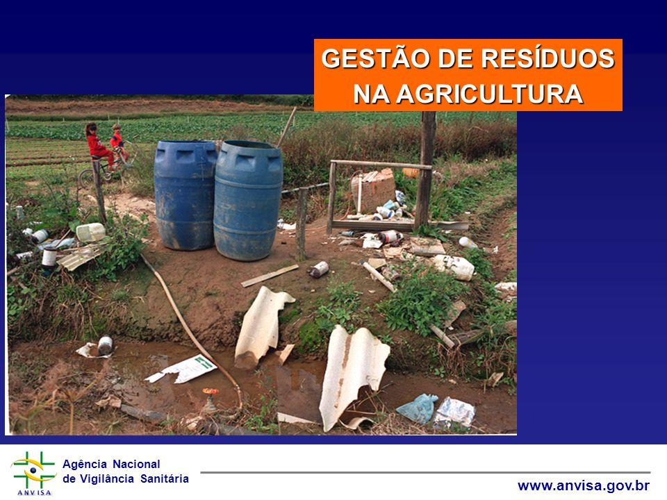 GESTÃO DE RESÍDUOS NA AGRICULTURA