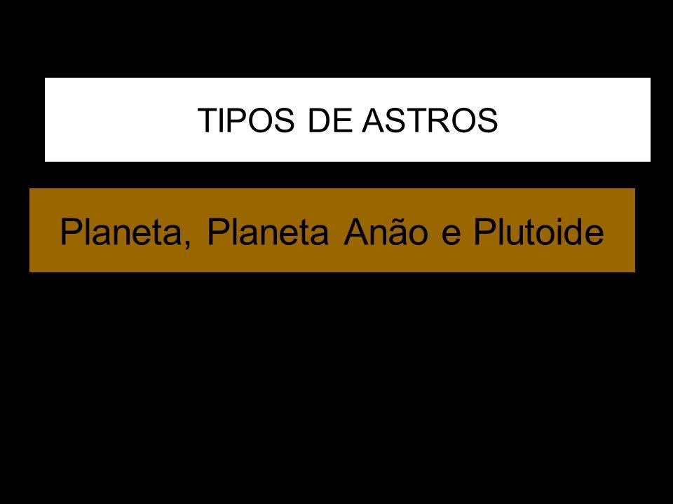 Planeta, Planeta Anão e Plutoide