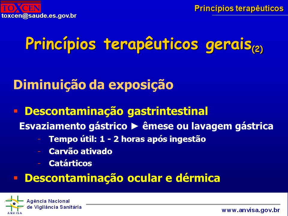Princípios terapêuticos gerais(2)