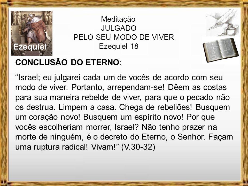 Ezequiel CONCLUSÃO DO ETERNO: