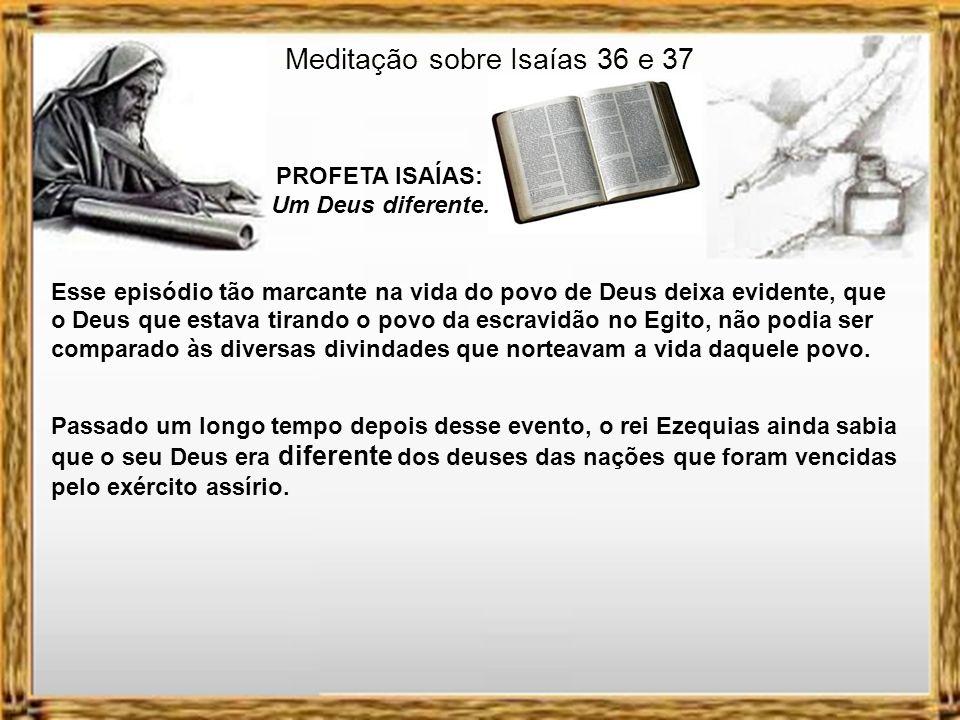 Meditação sobre Isaías 36 e 37
