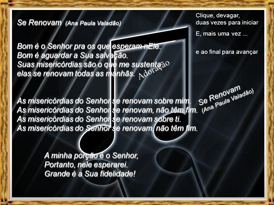 Adoração Se Renovam (Ana Paula Valadão)