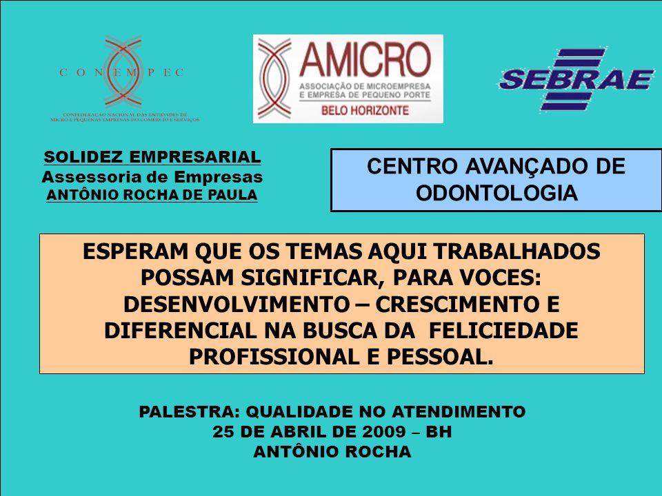 CENTRO AVANÇADO DE ODONTOLOGIA