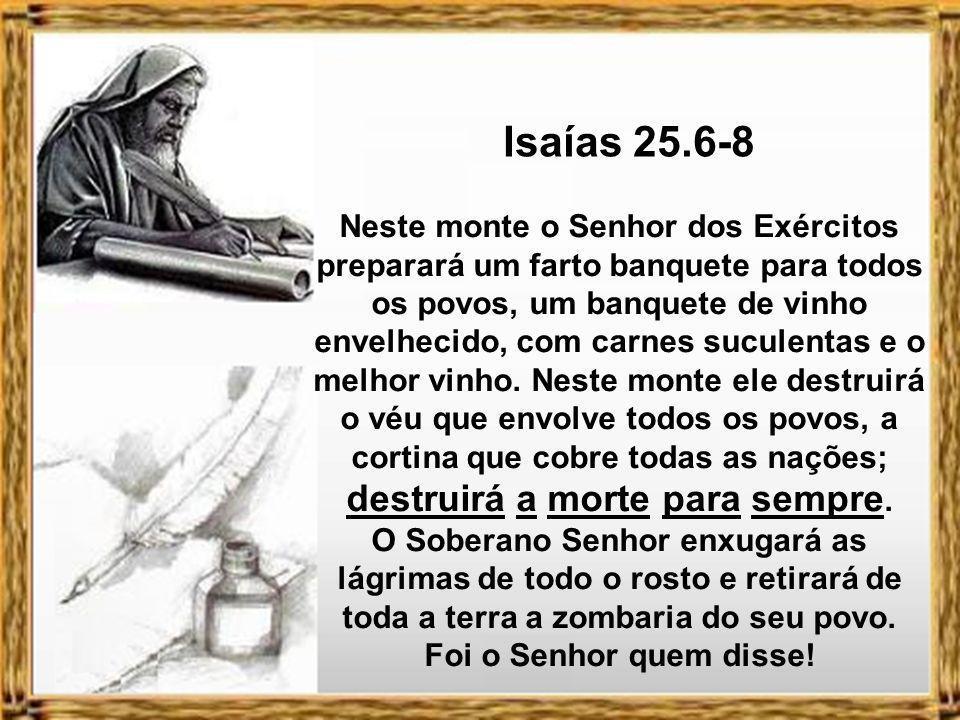 Isaías 25.6-8