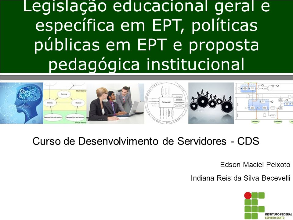 Curso de Desenvolvimento de Servidores - CDS
