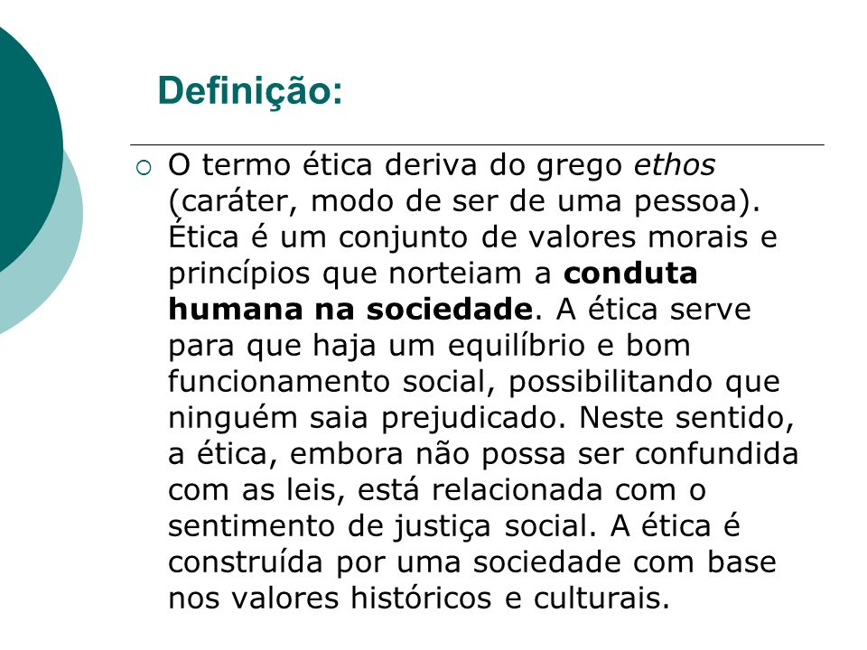 Definição: