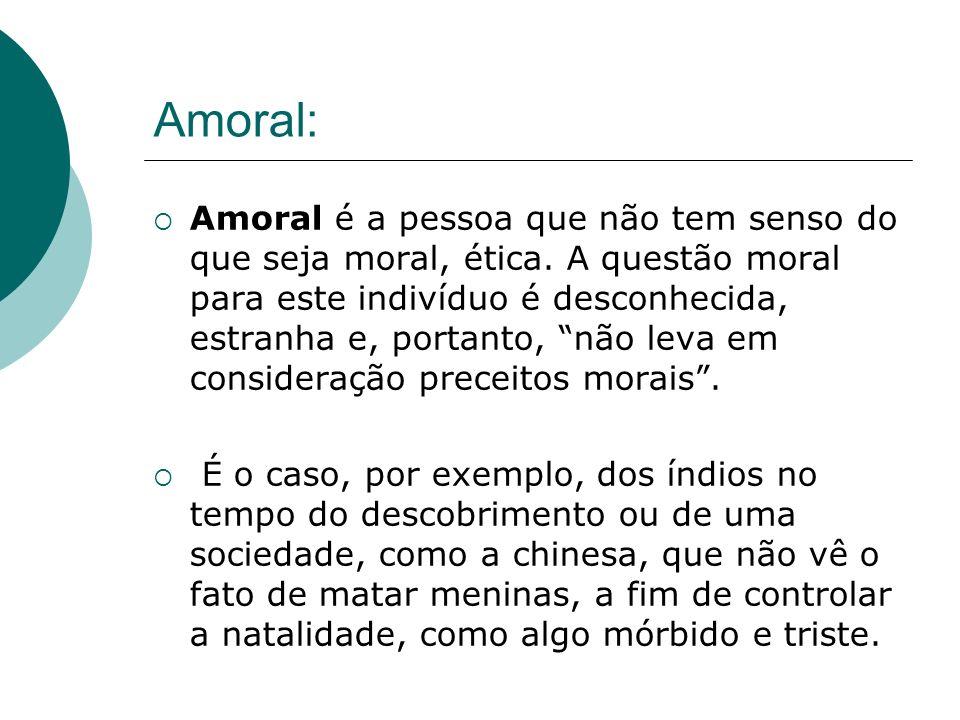 Amoral: