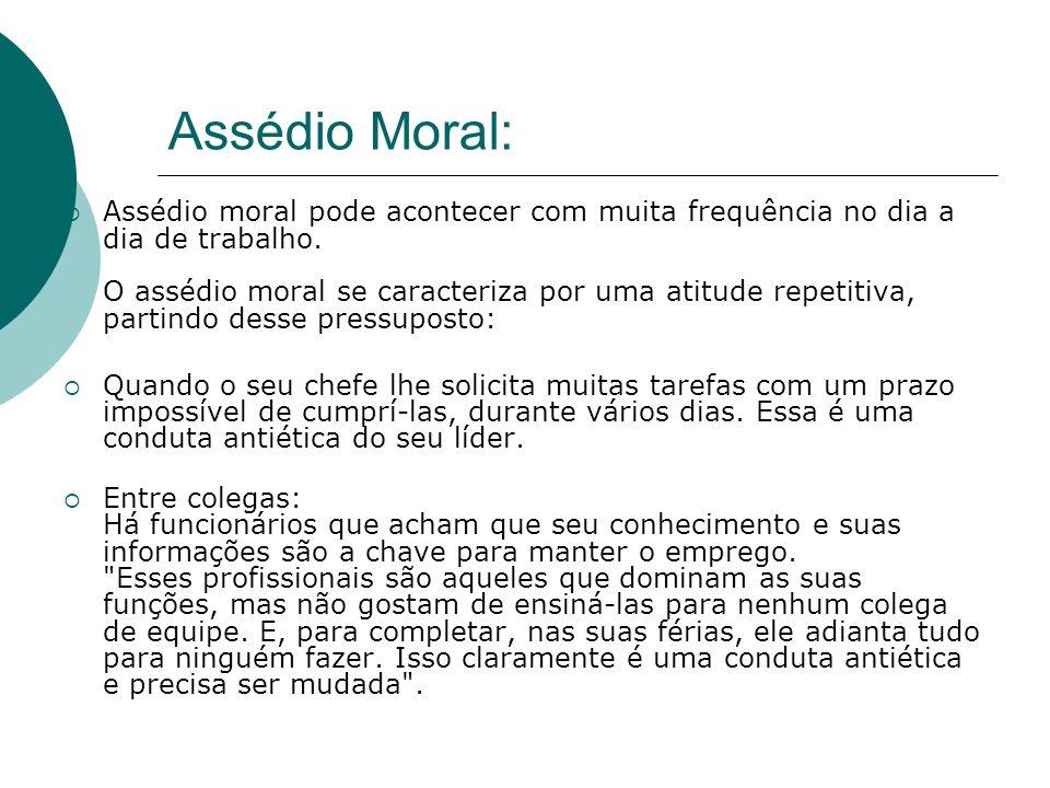 Assédio Moral: