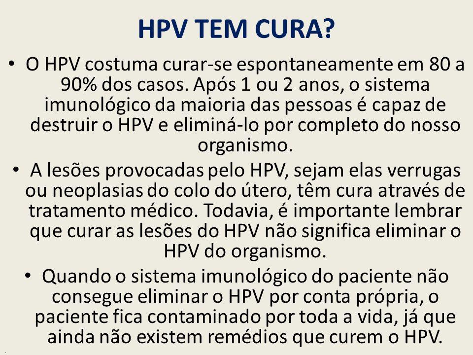 HPV Tem Cura? - O que o V rus 15