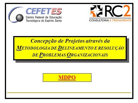 Concepção de Projetos através da METODOLOGIA DE DELINEAMENTO E RESOLUÇÃO DE PROBLEMAS ORGANIZACIONAIS