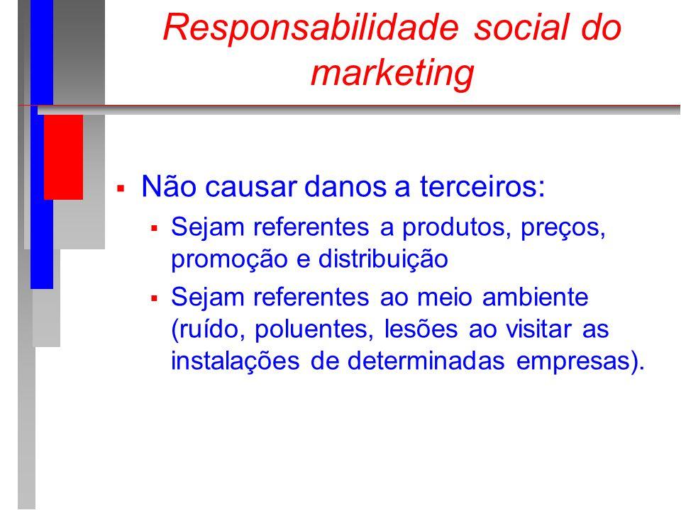 Responsabilidade social do marketing